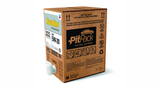 PitPack easy-dispense motor oil system