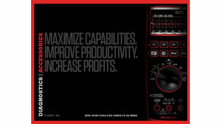 New Snap-on diagnostics accessories catalog now available