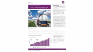 Industry research update: Truck Transportation