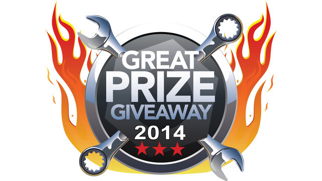 Voting now open to win prizes in 2014 Great Prize Giveaway