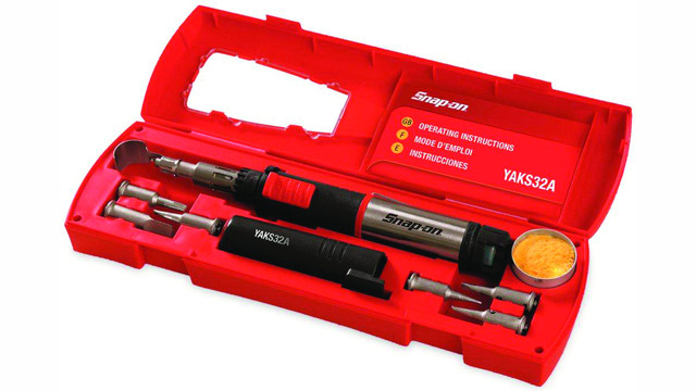 Butane Soldering Iron Kit No. YAKS32A