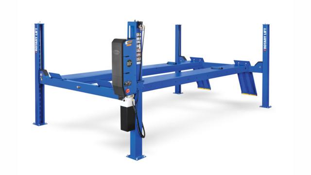 Rotary Lift updates light duty four-post lifts