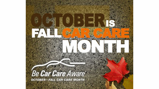 Car Care Council provides customer information for shop websites in time for Fall Car Care Month