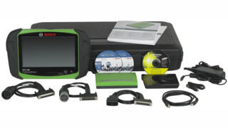 Bosch releases Esitronic Truck, its first heavy duty truck all makes/all models scan tool for North America
