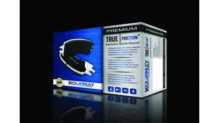 True|Friction brake pad series