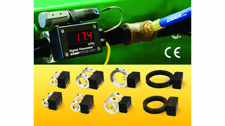 Exair digital flowmeters