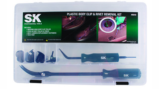 SK 6640 Body Clip & Rivet Removal Tools Set