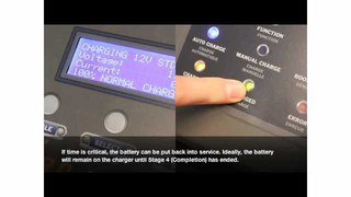 Clore PRO-LOGIX Wheel Chargers Automatic Charging Mode Video