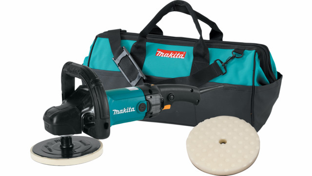 Makita 7 Polisher, No. 9237CX2 Kit