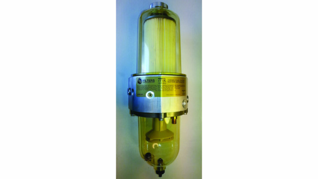 Diesel fuel filter/water separators