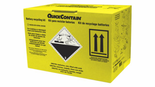 QuickContain Battery Recycling Kit