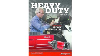 New Snap-on heavy duty catalog offers array of tools and equipment