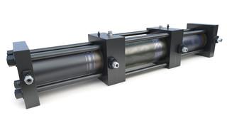 "Trillium CNG unveils 7"" Hydraulic Intensifier Compressor (HY-C)"