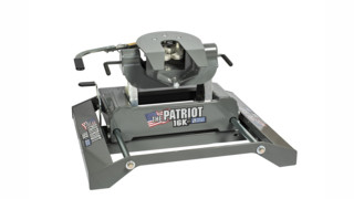 Patriot rail-mounted fifth wheel slider hitch