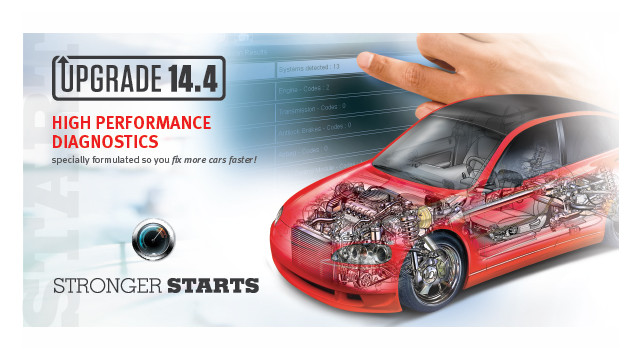 New Snap-on software upgrade 14.4 designed to deliver high performance diagnostics
