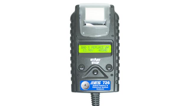 Digital Battery & Electrical System Analyzer w/Printer, No. 726