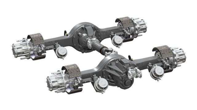 Dana Spicer AdvanTEK 40 tandem drive axle now available for all Peterbilt heavy duty truck models