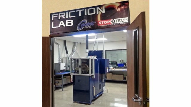 Centric Parts opens friction lab to enhance R&D program