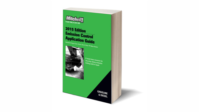Mitchell 1 releases 2015 Emission Control Application Guide (ECAT15)
