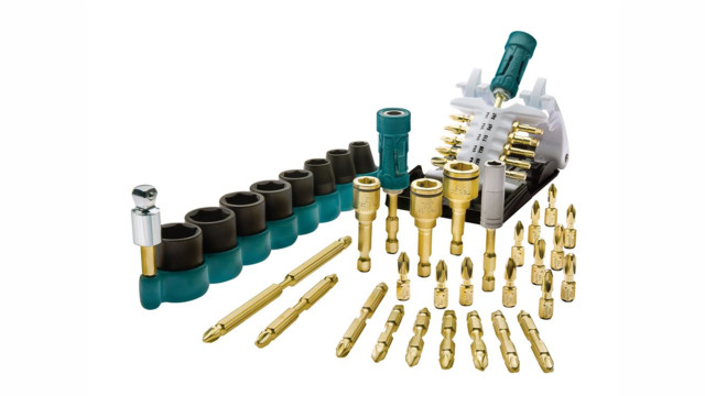 Impact Gold Insert Bits and Double-Ended Power Bits