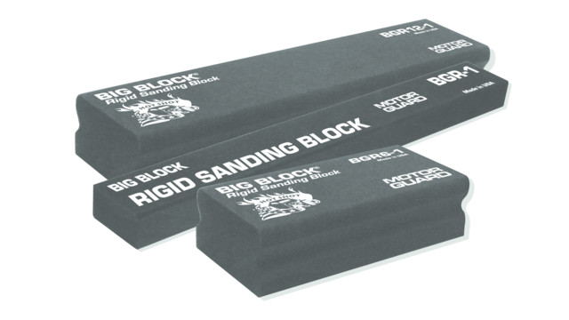 Line of Super-Rigid Big Block sanding blocks