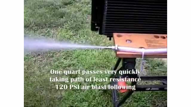 Hecat Condenser Flushing Video