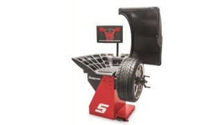 Motorized Wheel Balancer with Raised Display, No. EEWB33A