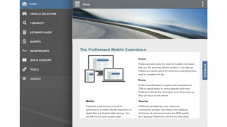 Mitchell 1 unveils ProDemand Mobile at AAPEX