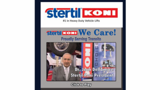 Stertil-Koni debuts second episode of new video series spotlighting unique customer applications