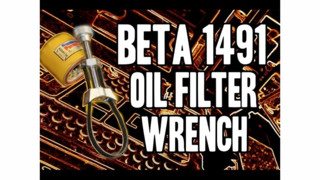 Real Tool Reviews' Beta Tools Oil Filter Wrench Video