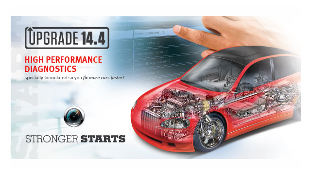 Optional Euro coverage for Snap-on diagnostic software allows repairs to remain in-house
