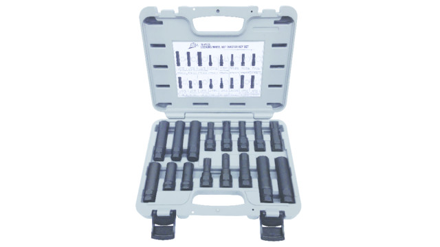 16-pc Locking Wheel Nut Master Key Set, No. ATD-3065