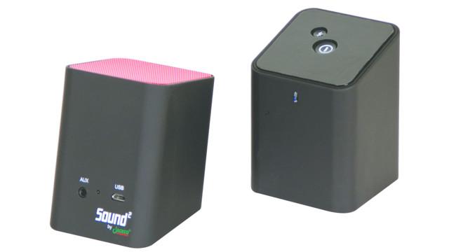Sound 2 portable bluetooth speakers