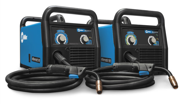 Miller Electric launches Millermatic 190 and 141 MIG Welders that improve function and portability
