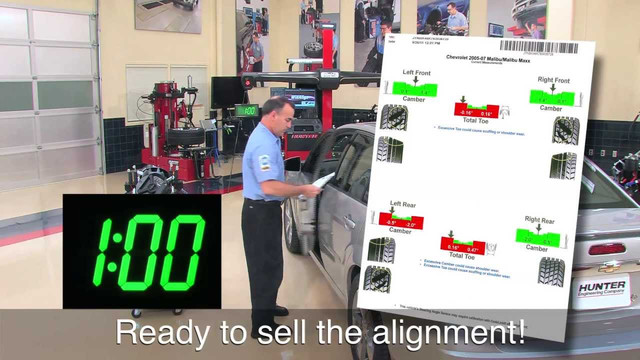 Hunter Quick Check System With Mobile Aligner Video