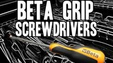 Real Tool Review of Beta Tools Grip Screwdrivers, No. 1263/D10 Video