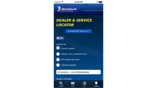 Michelin Americas Truck Tires dealer locator app