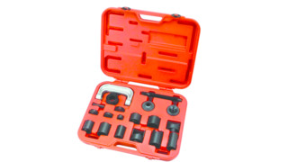 Ball joint service tool with master adapter set, No. KTI71556