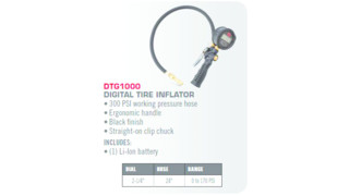 Digital Tire Inflator, No. DTG1000