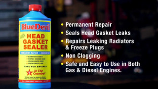 BlueDevil Head Gasket Sealer - Product Spotlight #1 Video