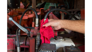 Are reusable shop towels dangerous to workers?