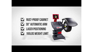 CEMB USA ErGoFast Line Wheel Balancers Video