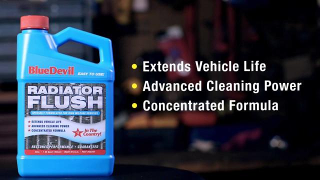 BlueDevil Radiator Flush - Product Spotlight #2 Video