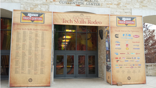 Photos from the 2014 Rush Truck Centers Tech Skills Rodeo