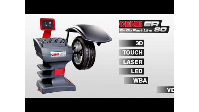 CEMB USA ER80 Wheel Balancer Video