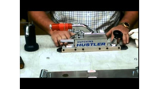 How To Oil A Hutchins Straightline Sander Video