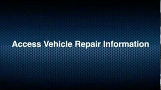 Truck Connect Diagnostics with repair information Video