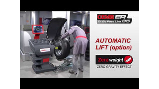 CEMB USA ER85 Wheel Balancer Video
