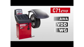 CEMB USA C71 Wheel Balancer Video