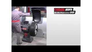 CEMB USA ER60 Wheel Balancer Video